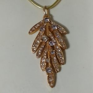 Designer Large Gold Plated Pendant